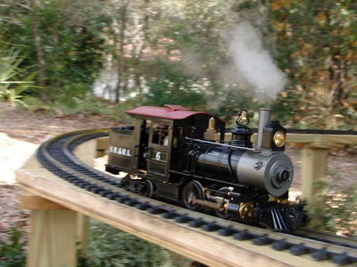 Real steam train sets