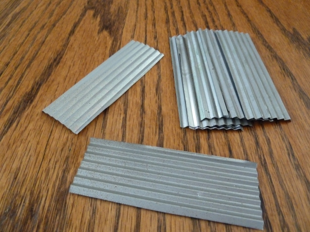 Galvanized siding or roofing
