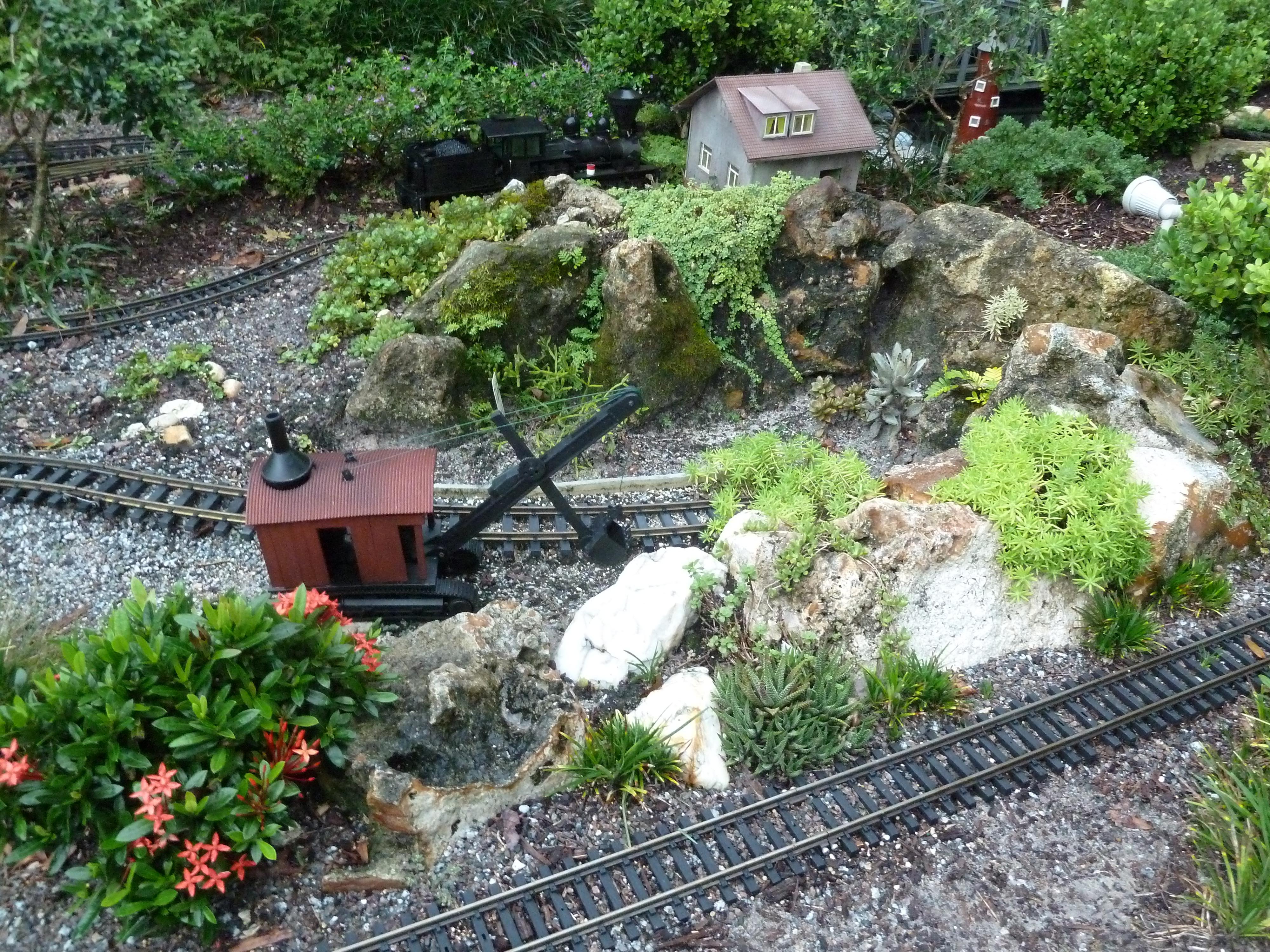 Working on the Railroad Centralia Garden Railroad